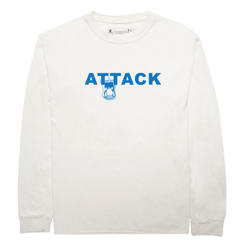 RARE PANTHER  ATTACK L/S TEE    IVORY