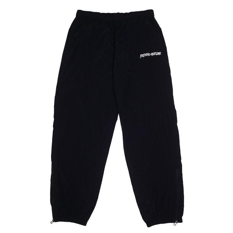 FUCKING AWESOME SPIRAL TRACKPANTS BLACK