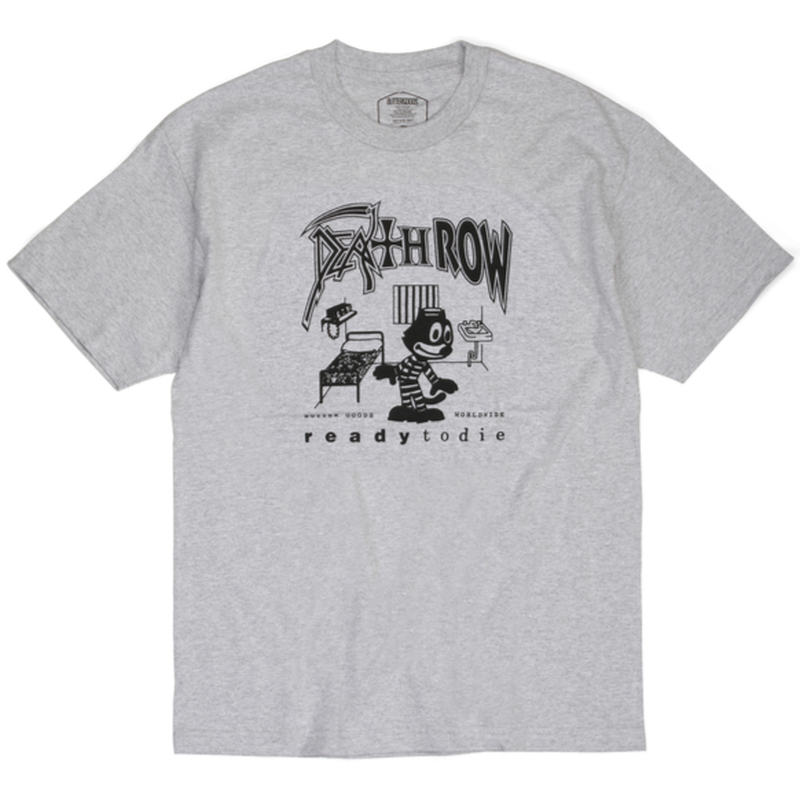 BUTTER GOODS   DEATHROW TEE        H,GREY