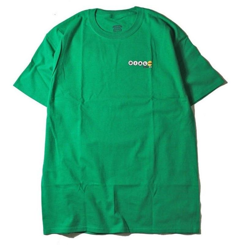 DIAL TONE LUCKY NUMBERS TEE-GREEN