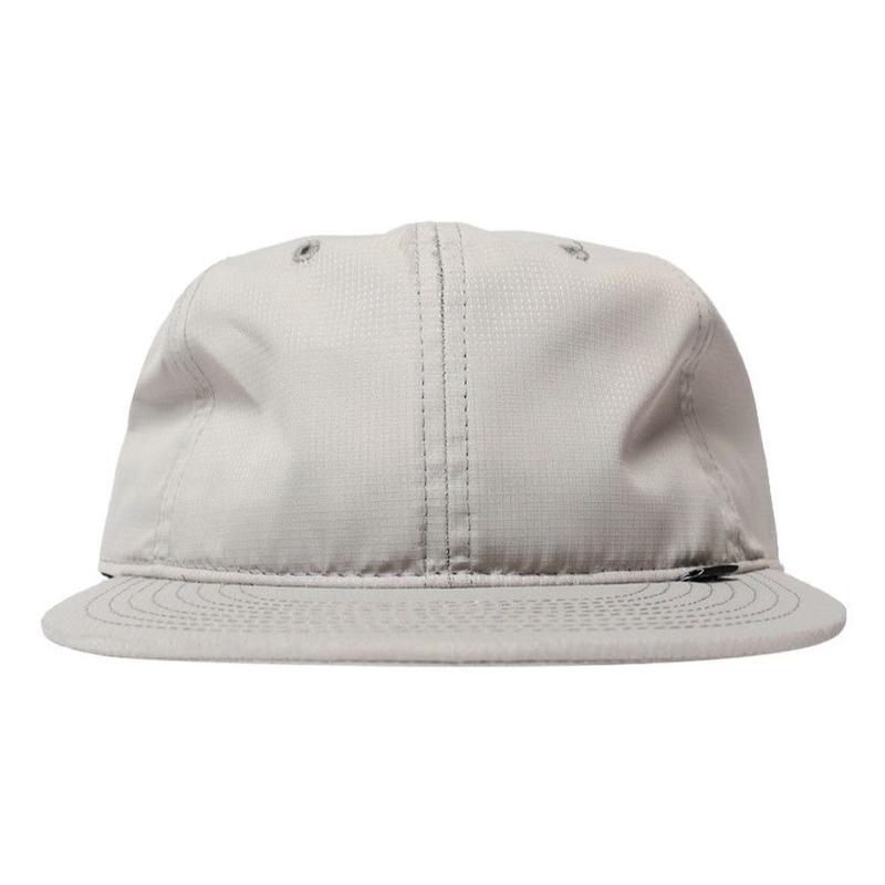NYLON RIPSTOP CLUB HAT-GREY