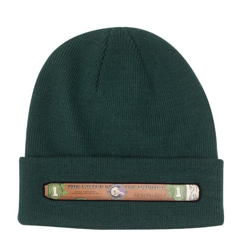 FUCKING AWESOME BLUNT BEANIE-GREEN