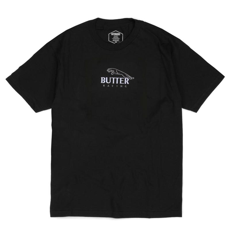 BUTTER GOODS  RACING TEE      BLACK
