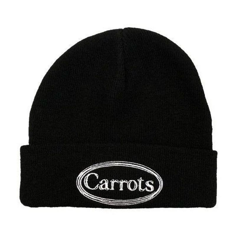 CARROTS WARDMARK KNIT BEANIE-BLACK