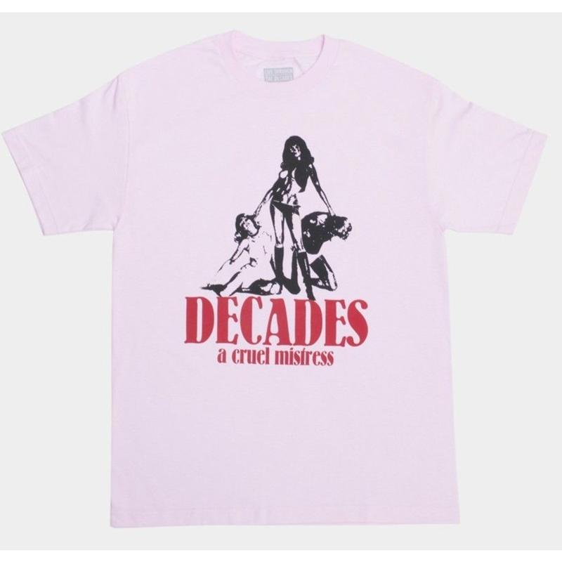 THE DECADES LADY DEATH TEE PINK