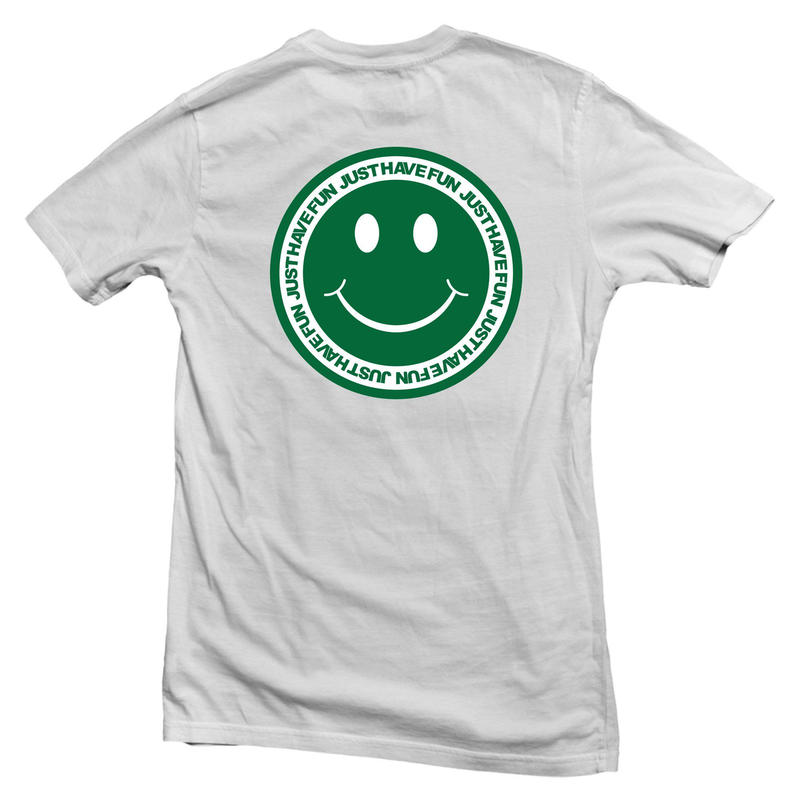 JHF HAVE A NICEDAY TEE WHITE