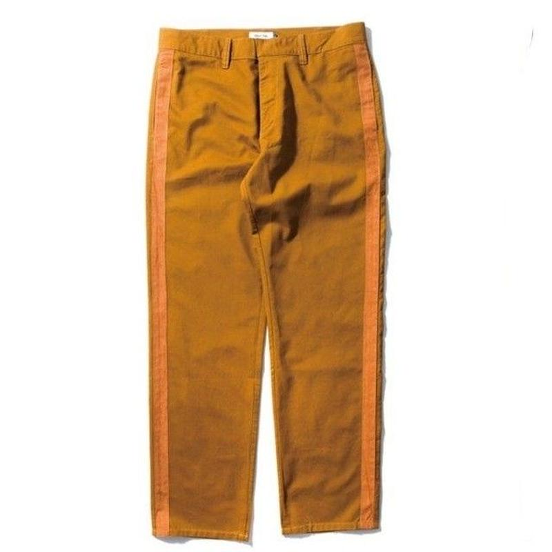 DEMARCOLAB SIDE STRIPE CHINO-BROWN