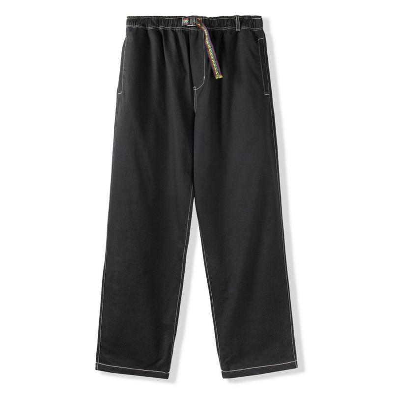 BUTTER GOODS SUMMIT PANTS-BLACK