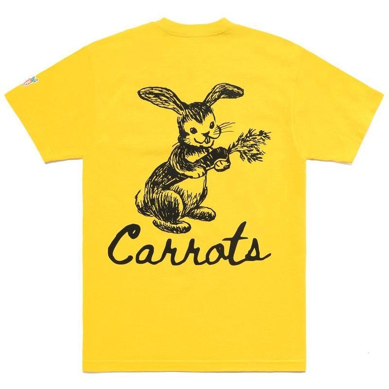 CARROTS BUNNY TEE-YELLOW