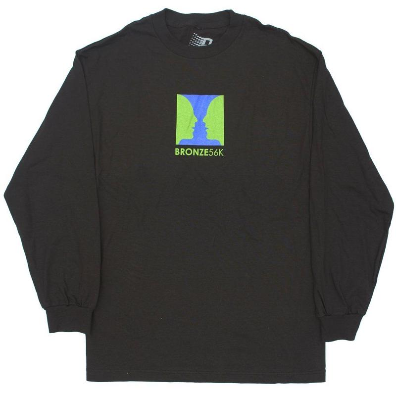 BRONZE56K  THANKS FOR WATCHING  L/S TEE BLACK