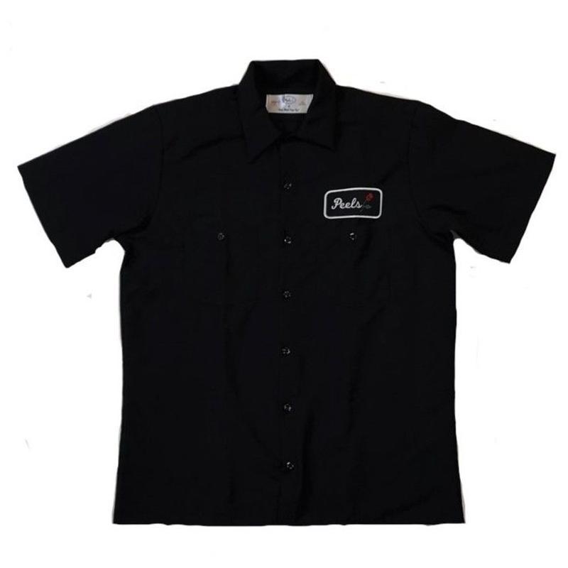 PEELS WORK S/S SHIRT BLACK