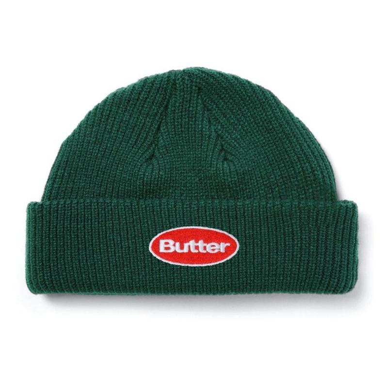 BUTTER GOODS BADGE BEANIE-FOREST