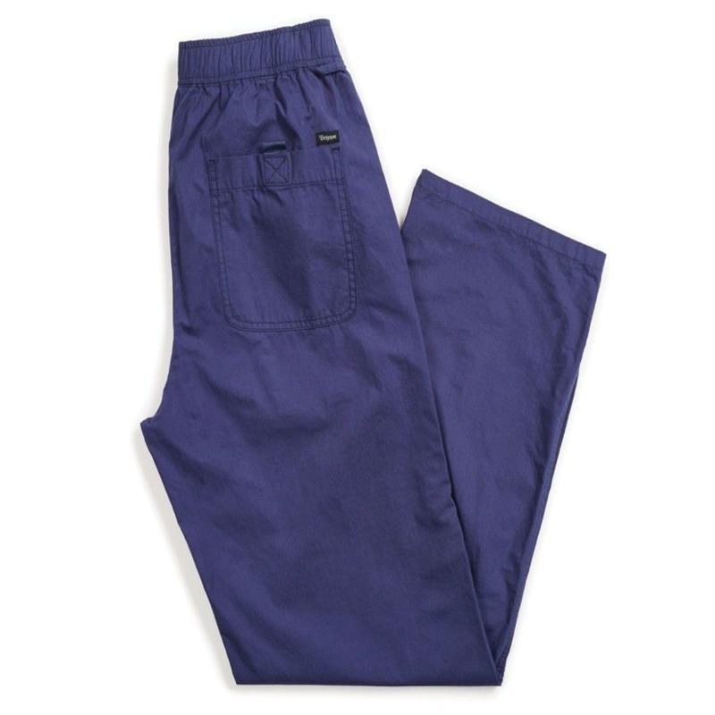 BRIXTON  STEADY  ELASTIC WB PANT-PATRIOT BLUE