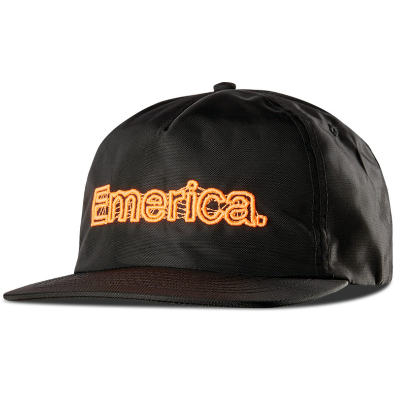 EMERICA X FUNERAL FRENCH NYLON HAT BLACK