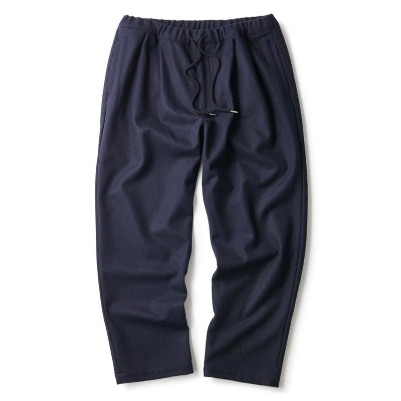 INTERBREED DAD WOOL TROUSERS NAVY