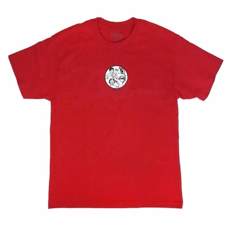 LURK NYC    COLD WORLD   TEE     RED