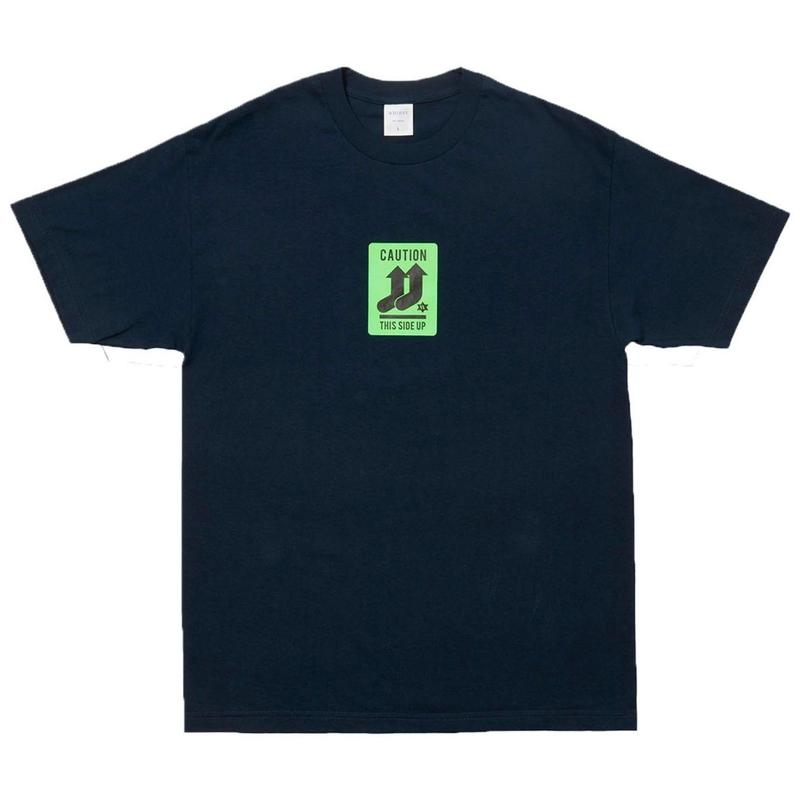 WHIMSY PULL UP TEE-NAVY