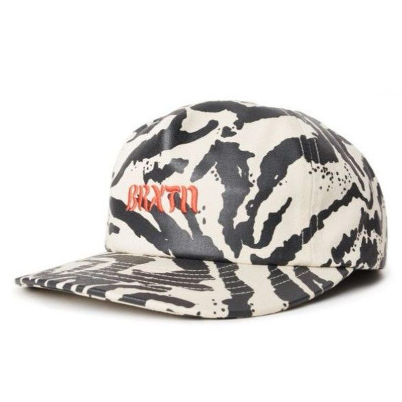 BRIXTON MARCH LP CAP-WASHED-BLACK-BONE