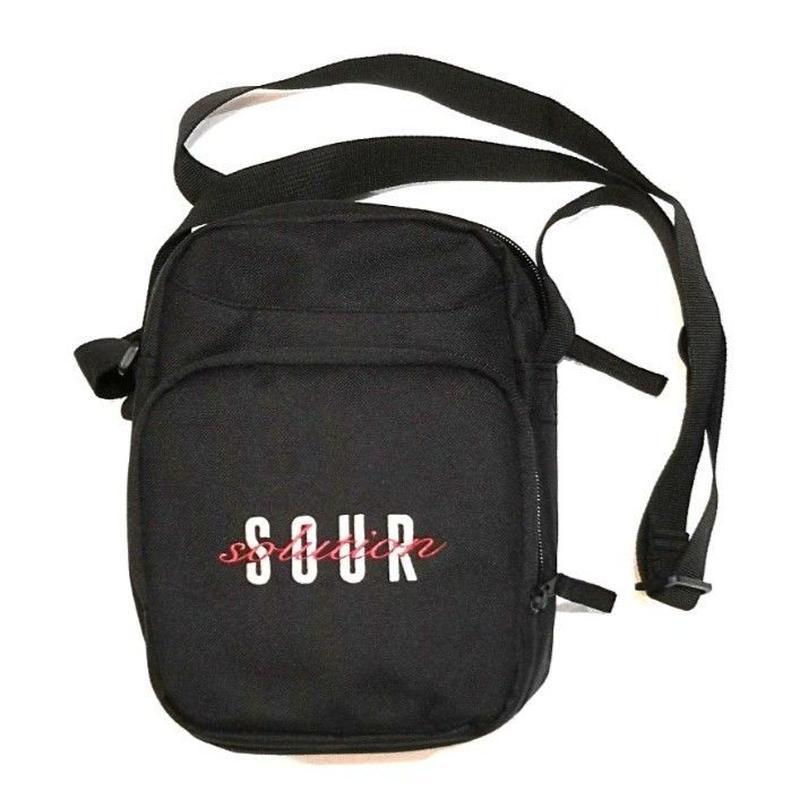 SOUR SOLUTION OFF YOUR CHEST BAG-BLACK