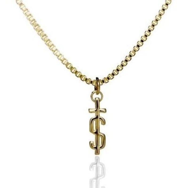 EL SENOR S-CROSS PENDANT  GOLD