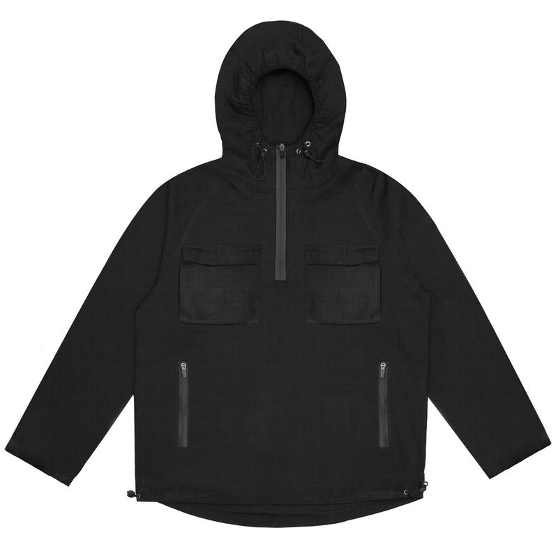 WASTED PARIS WIND BREAKER CITY NOIR   BLACK