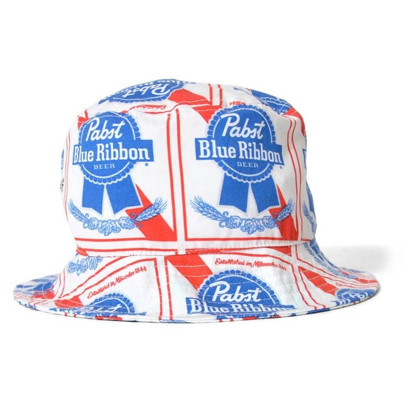 LAFAYETTE X PABST BLUE RIBBON  ALLOVER BUCKET HAT