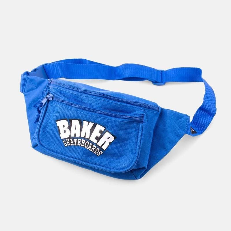 BAKER SKATEBOARDS SHOULDE BAG ARCHLOGO  BLUE