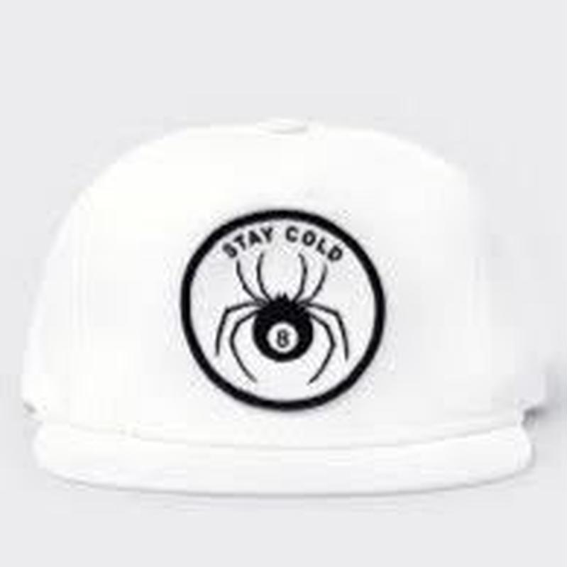 CRAWLING DEATH STAY COLD HAT WHITE