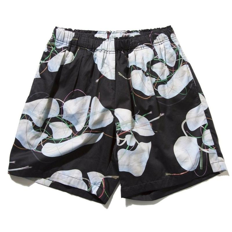 DEMARCOLAB BRANCHES & LEAVES 2T SHORTSBLACK