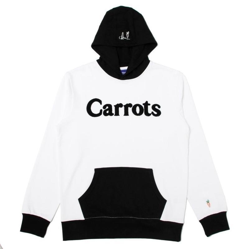 CARROTS WORDMARK HOODIE WHITE/BLACK