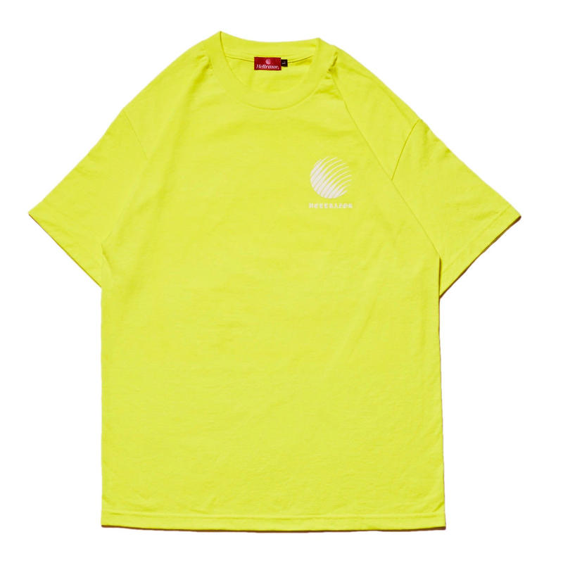 HELLRAZOR OL'ENGLISH LOGO TEE-S,GREEN