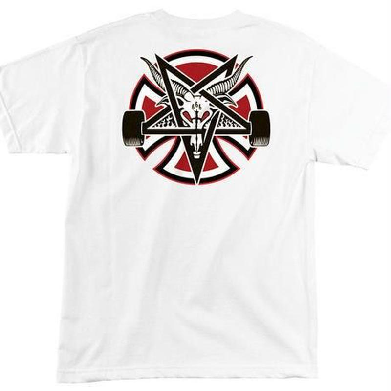 INDEPENDENT X THRASHER PENTAGRAM TEE