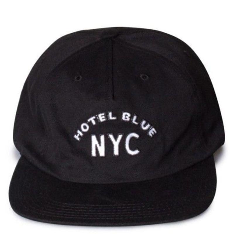 HOTEL BLUE ARCH CAP  BLACK