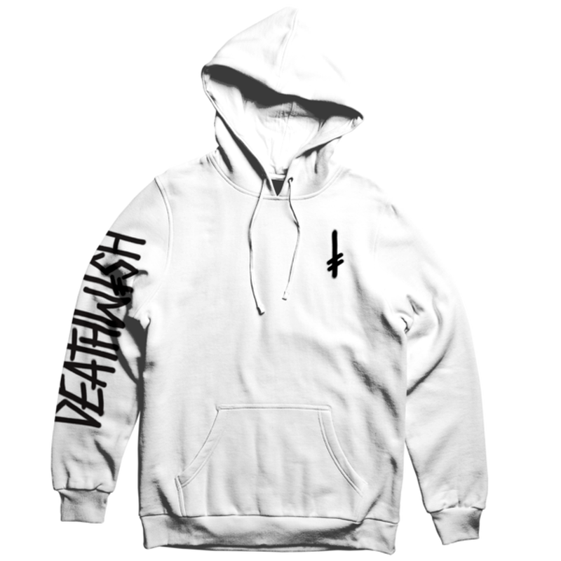 DEATH WISH LANDMARK  PULLOVER       WHITE