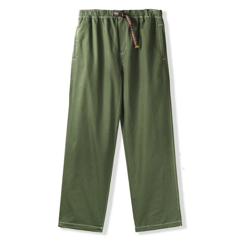 BUTTER GOODS SUMMIT PANTS-ARMY
