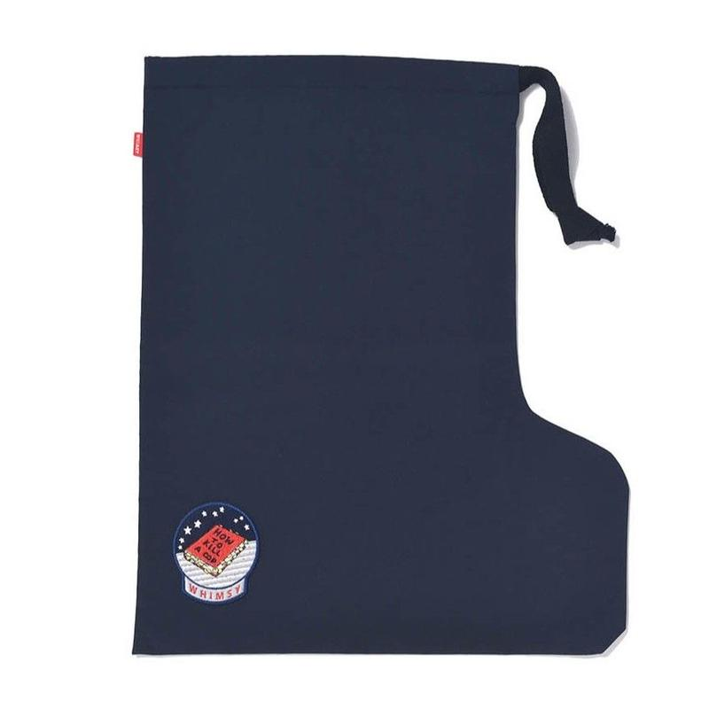WHIMSY NYLON SOCKS BAG-NAVY