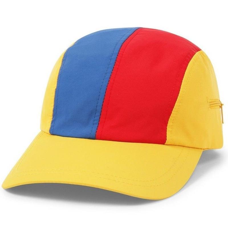 BUTTER GOODS SPORT CAMP CAP-YELLOW