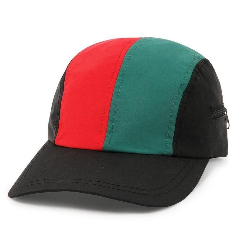 BUTTER GOODS SPORT CAMP CAP-BLACK