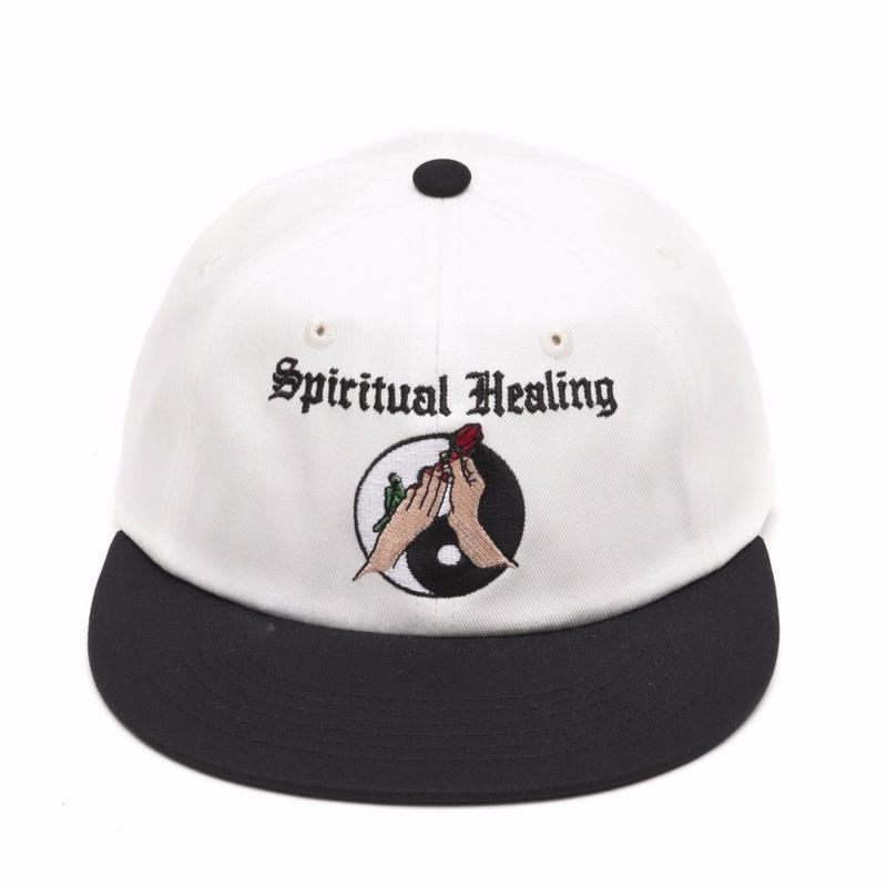 JUNGLES SPIRITUAL HEALING  CAP  WHITE
