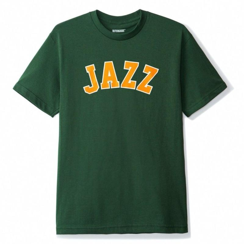 BUTTER GOODS JAZZ TEE-F,GREEN