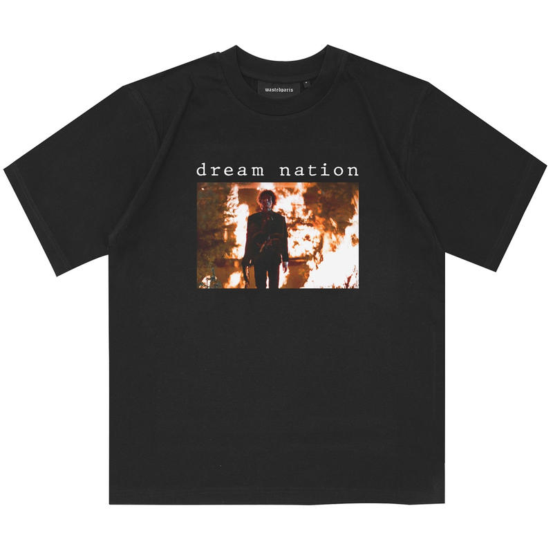 WASTED PARIS DREAM NATION TEE-BLACK