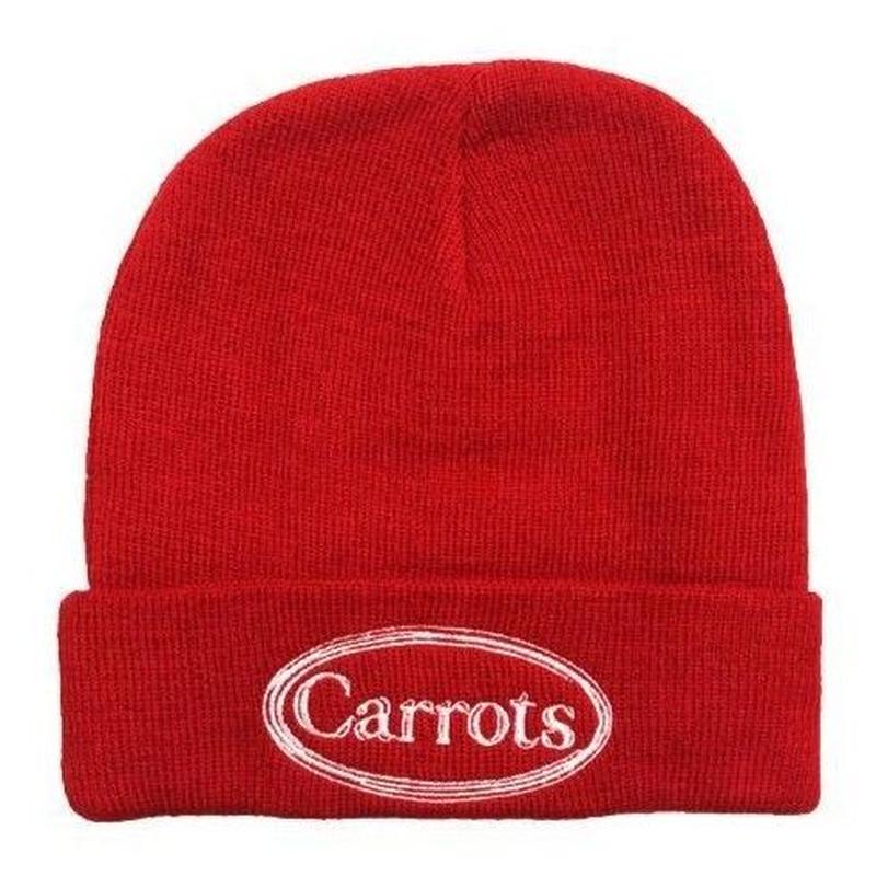 CARROTS WARDMARK KNIT BEANIE-RED