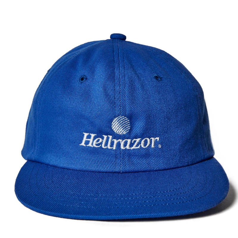 HELLRAZOR TRADEMARK LOGO 6PANEL-BLUE