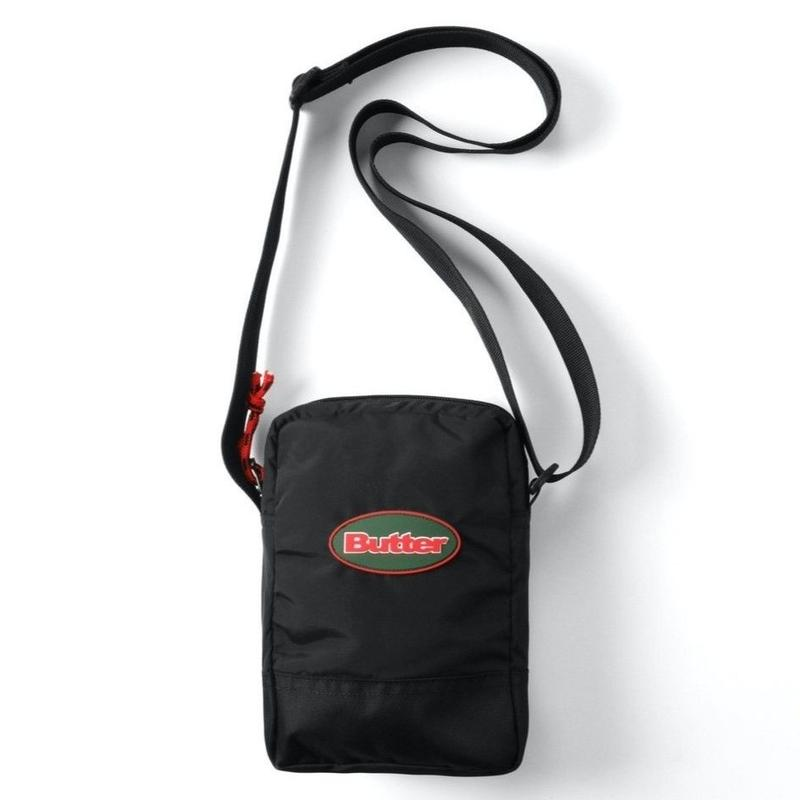BUTTER GOODS SMALL UTILITY BAG-BLACK