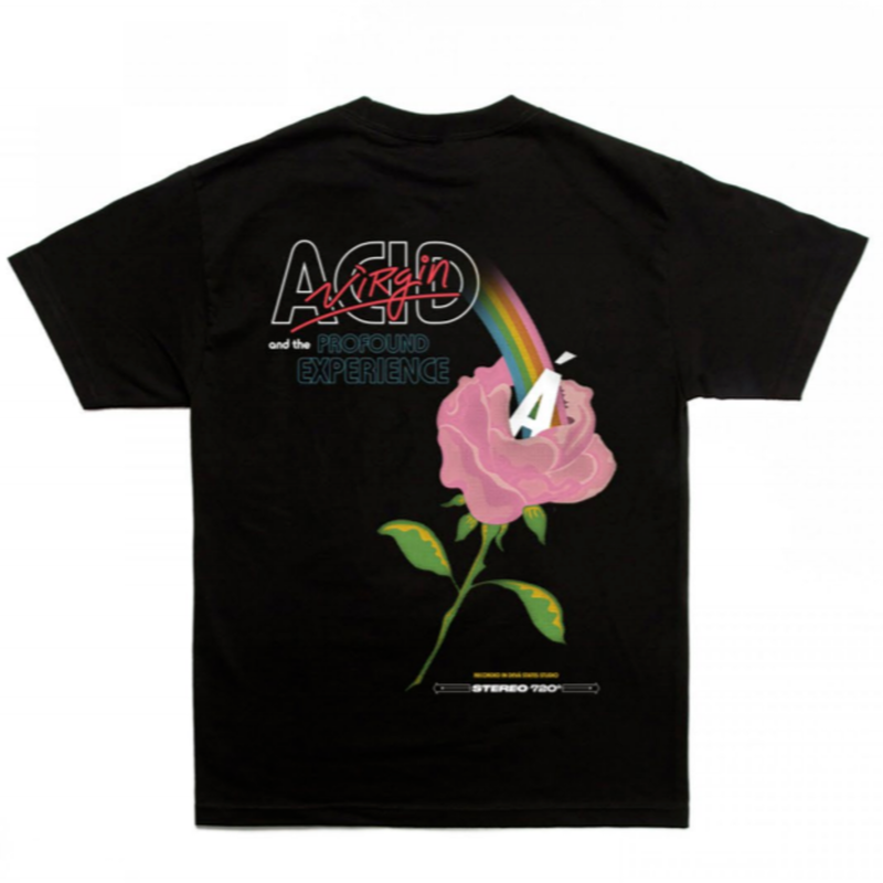 DEVA STATES ACID VIRGIN   TEE     BLACK