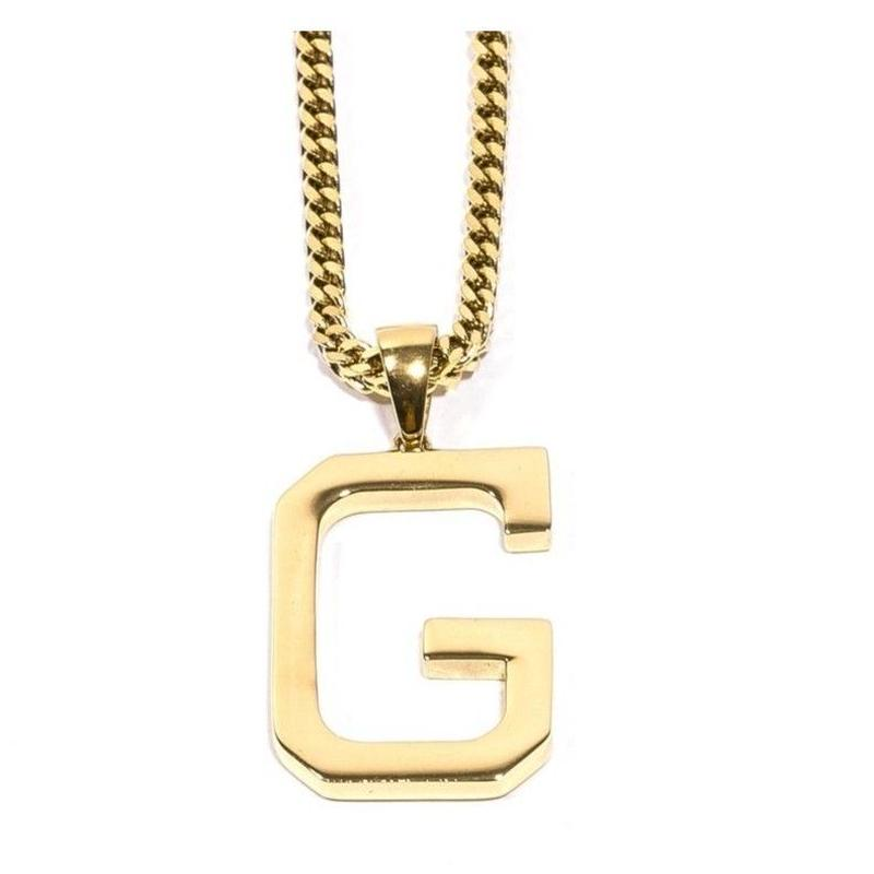 """GRIZZLY X GOLD GODS """"G"""" CHAIN"""