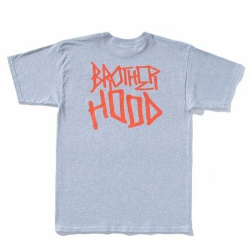BROTHER HOOD ICONIC STACKED TEE H,GREY