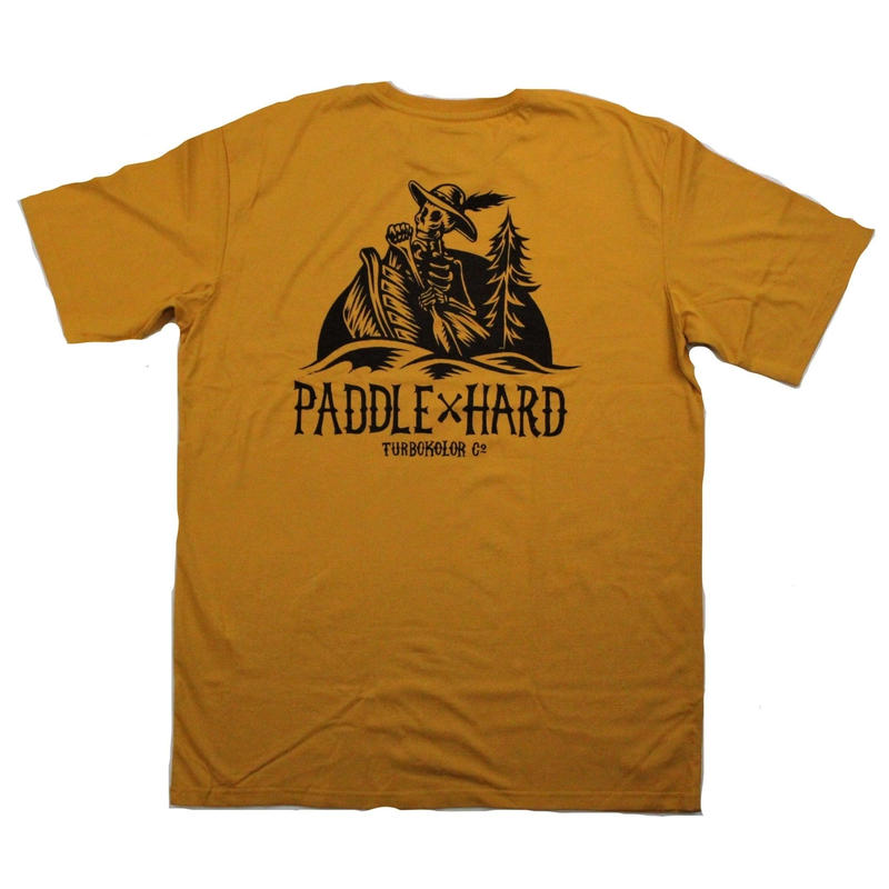 TURBO COLOR  PADDLE HARD TEE  YELLOW