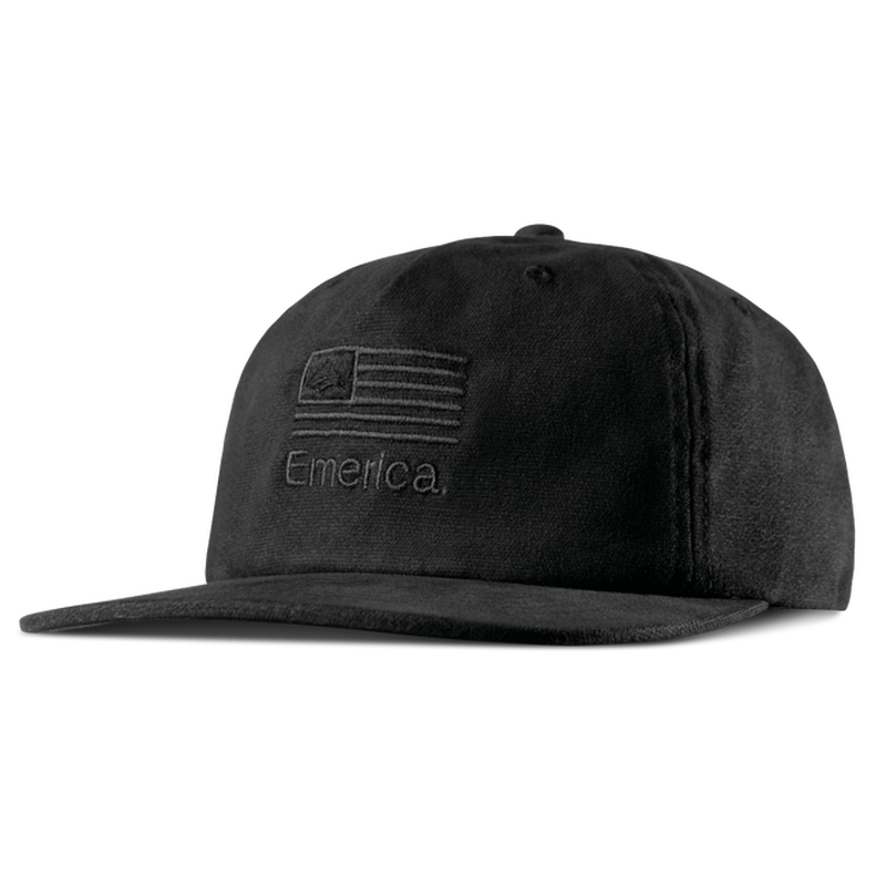 EMERICA MADE IN SNAPBACK   BLACK