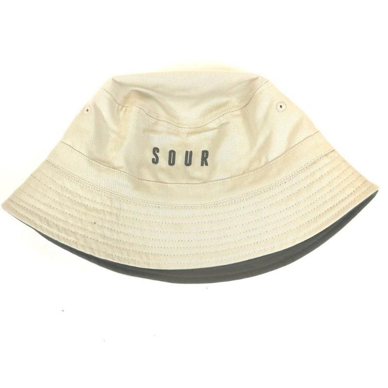 SOUR SOLUTION  BUCKET HAT-SAND